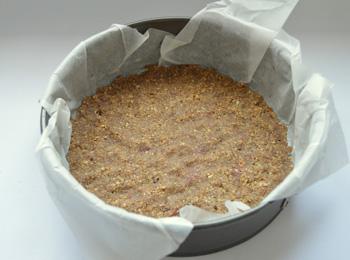 Ořechový koláč