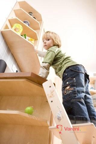 Děti v kuchyni: Nezapomínejte na jejich bezpečnost