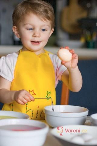 Barvení vajíček není věda