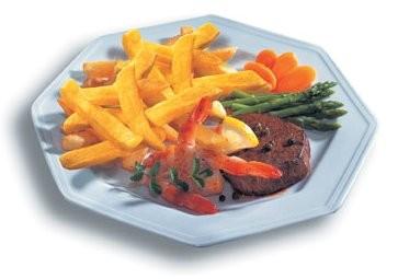 Hranolky mohou být zdrojem zdravé a vyvážené stravy