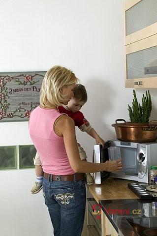 Vhodné nádobí a pomůcky do mikrovlnné trouby
