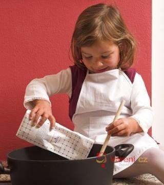 Vaření pro děti - poprvé s titanem?