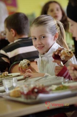 Stravování ve školní jídelně