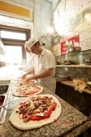 Příprava pizzy