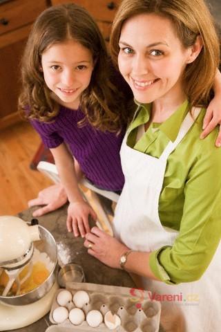 Děti jako pomocníci v kuchyni