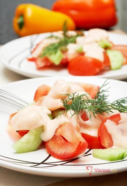 Omáčky k dochucování salátů: Dodají jídlu šmrnc!