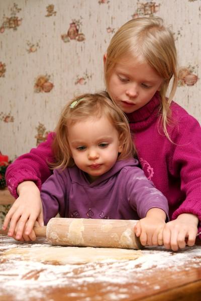 Pečeme vánoční cukroví s dětmi
