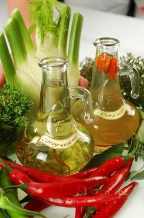 Domácí výroba aromatizovaného octa