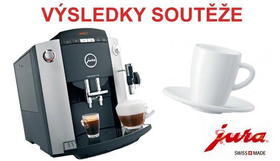 Výsledky soutěže se švýcarskými kávovary Jura