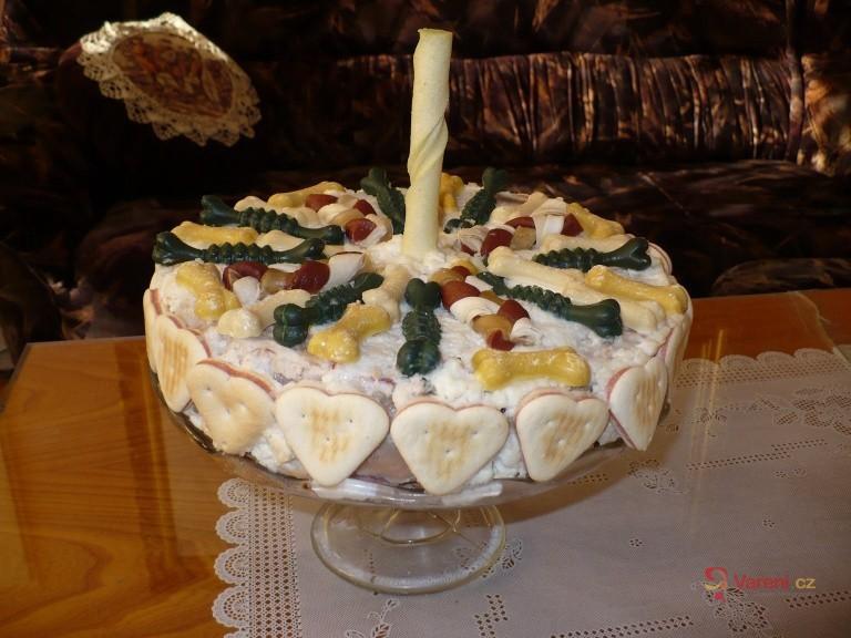 Narozeninový dort pro psa