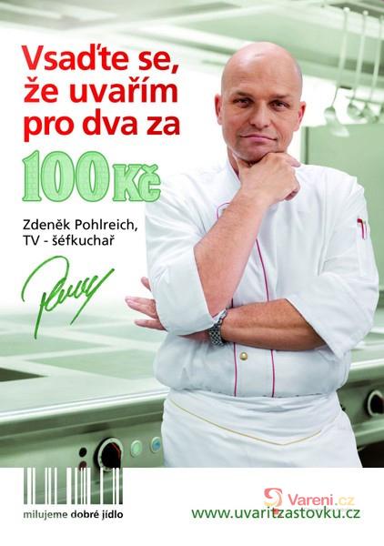 Výsledky soutěže o DVD kuchařky Zdeňka Pohlreicha