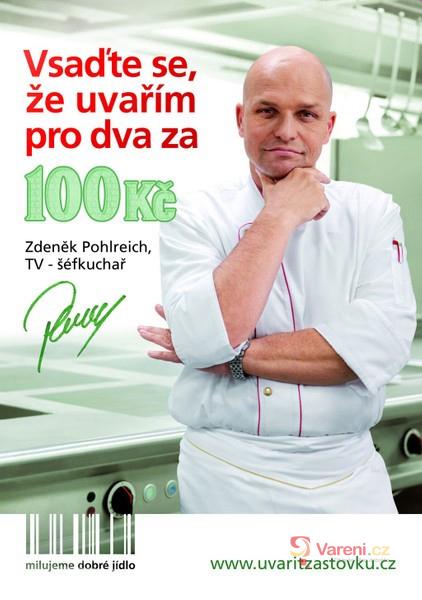 Výsledky druhé soutěže o DVD kuchařky Zdeňka Pohlreicha