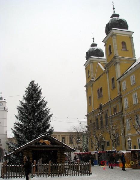 Vánoční trhy v Trenčíně