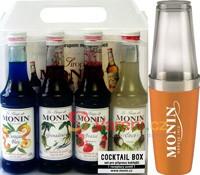 Výsledky soutěže o barmanský balíček sirupů MONIN a shaker