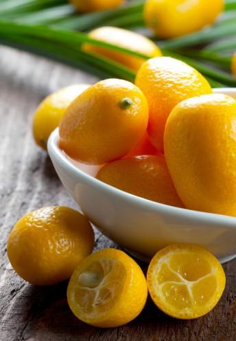 Exotické ovoce na vánočním stole