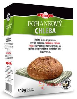Netradiční chleba z pohanky