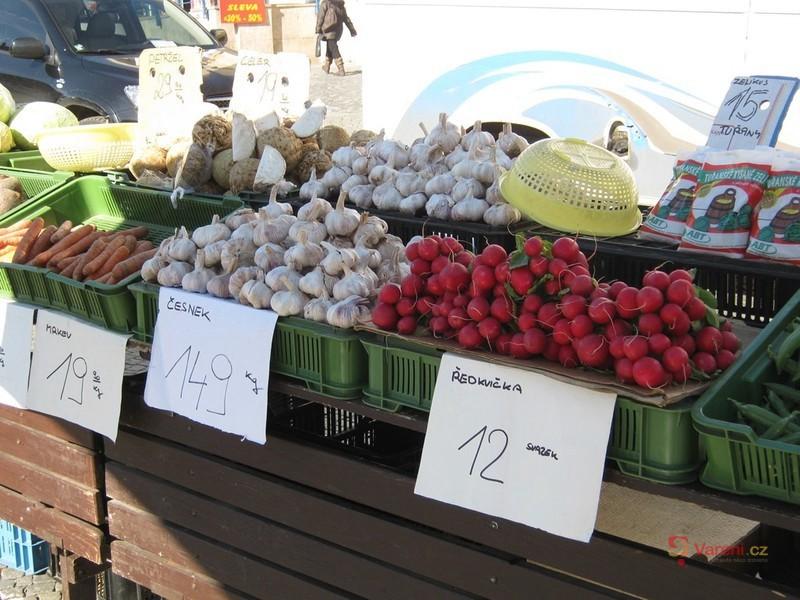Farmářské trhy v Brně