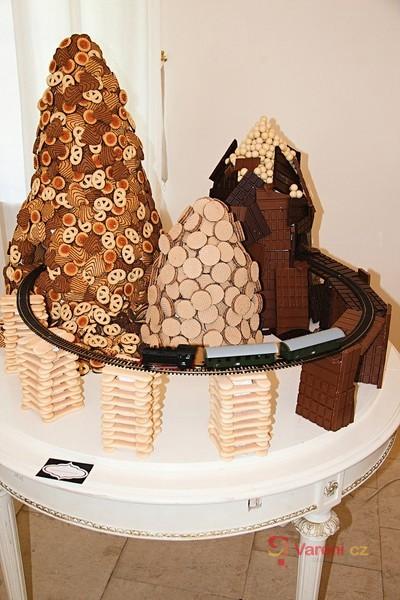 Z historie cukráren - výstava obrazem