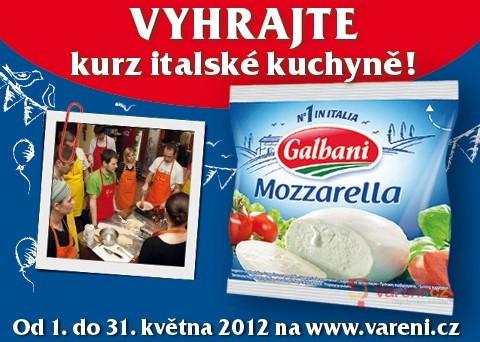 Výsledky soutěže s Mozzarellou Galbani
