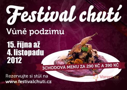 Vyrazte na Festival chutí - vůně podzimu