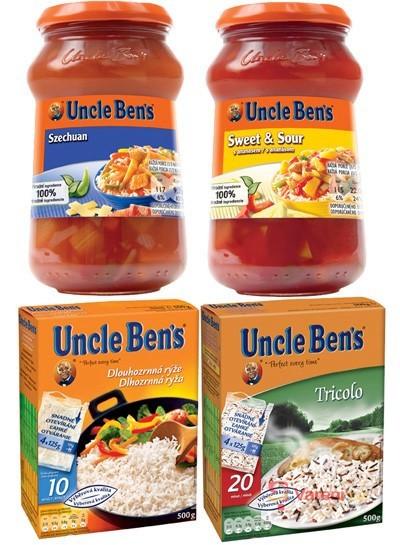 Výsledky soutěže o 10 balíčků produktů Uncle Ben´s v hodnotě 500Kč