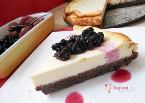 Recept na cheesecake s borůvkami krok za krokem