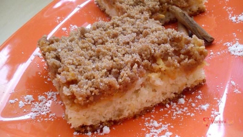 Jednoduše skvělý! Jablečný koláč s drobenkou krok za krokem