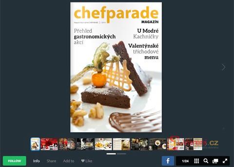 Chefparade vydává první online magazín o vaření