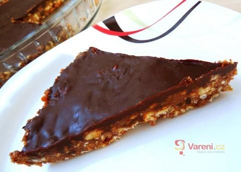 Recept na nepečený sušenkový dort krok za krokem
