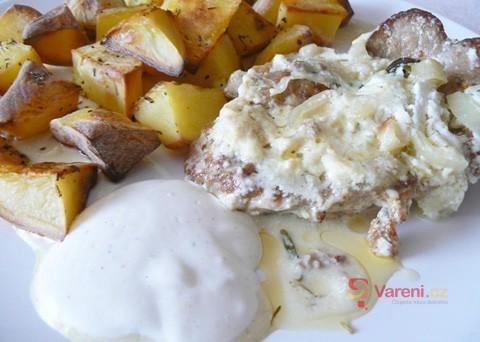 Tip na víkendový oběd: Vepřová krkovice na smetaně