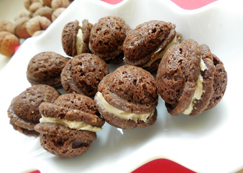 Recept na vánoční plněné ořechy krok za krokem