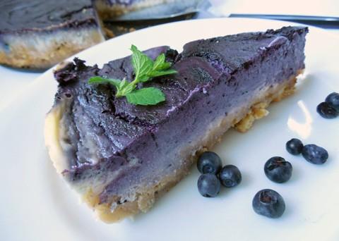 Recept na borůvkový cheesecake krok za krokem