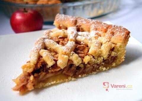 Recept na jablečný mřížkový koláč krok za krokem