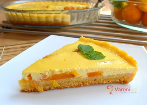 Recept na meruňkový koláč s tvarohem krok za krokem