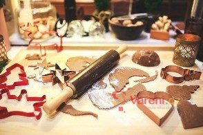 Vánoční cukroví - začínáme péct