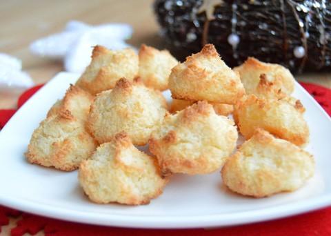 Recept na vánoční kokosky krok za krokem