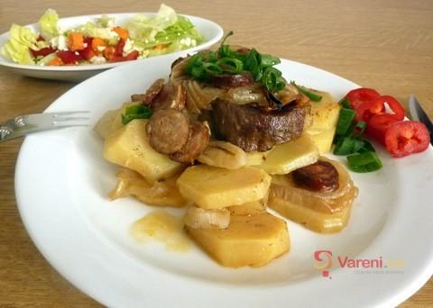 Maso na talíři: Recept na živáňskou pečeni krok za krokem