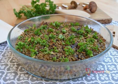 Recept na houbového kubu krok za krokem