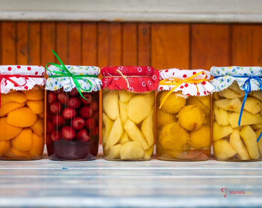 Jak na to: Zavařování kompotů a marmelády