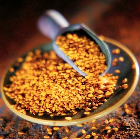 Sezamová semínka plná zdraví
