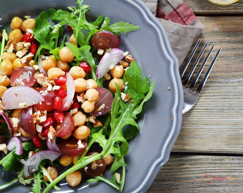 Polníček a rukola v salátech: Lepší jste nejedli!