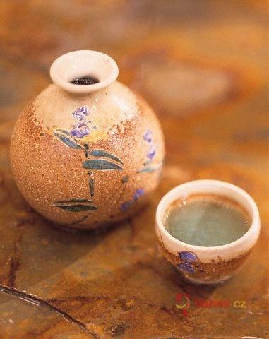 Rýžové víno Saké