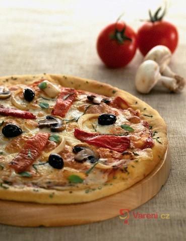 Slané koláče - pizza