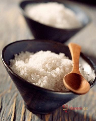 Sůl nad čistící prostředky