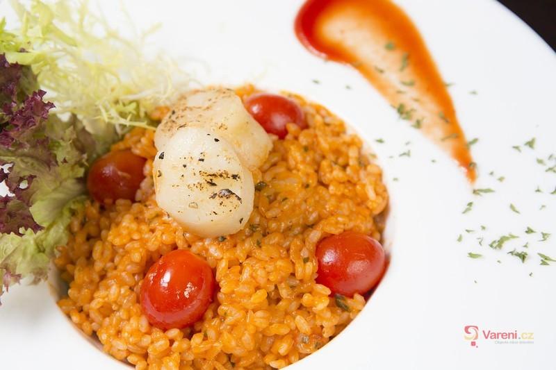 Tip na zdravou a rychlou večeři: Italské rizoto s rajčaty