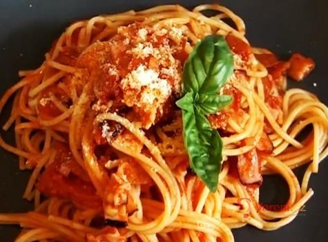Spaghetti all´Amatriciana