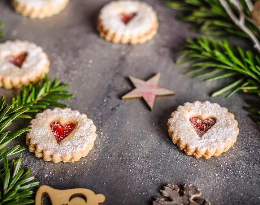 Videorecept: Vánoční linecké koláčky