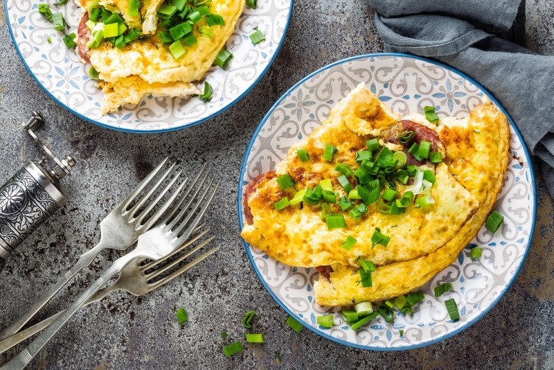 Jak připravit výbornou vaječnou omeletu?