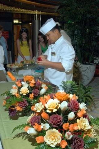 Aranžování ovoce a zeleniny
