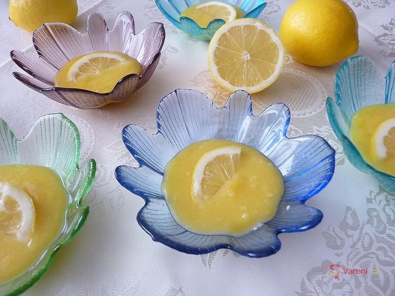 Recept na citronový krém krok za krokem